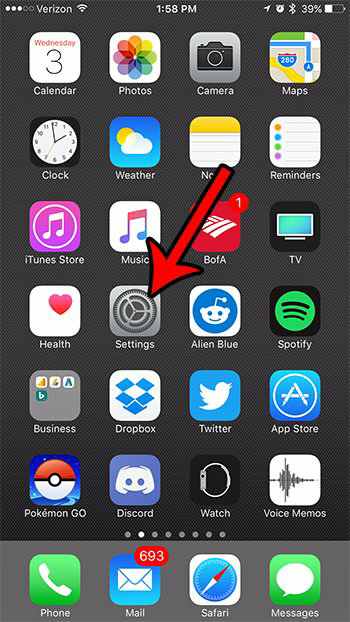 disable iCloud account from iphone 1
