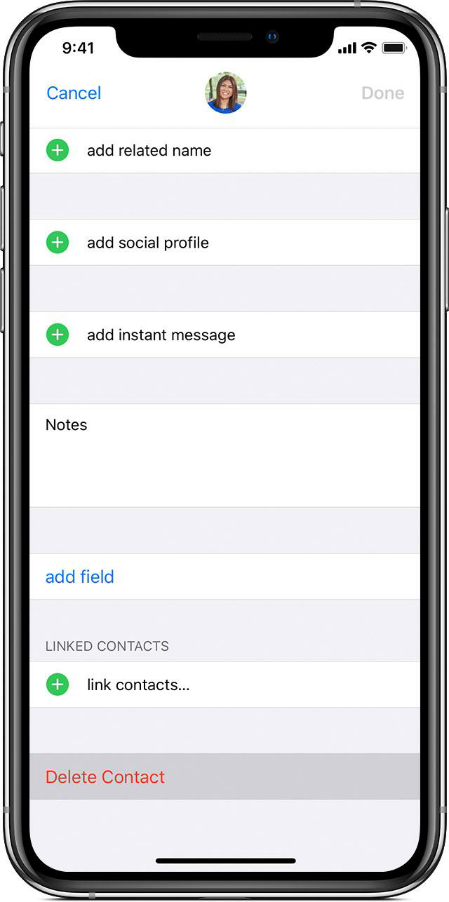 Change how to display and sort out contacts