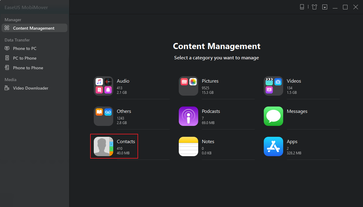 Delete all contacts from your iPhone X 1