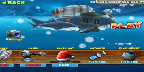 hungry shark mod version