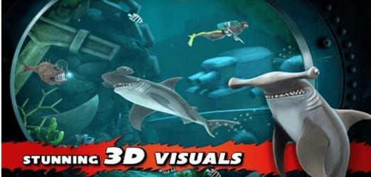hungry shark 3d