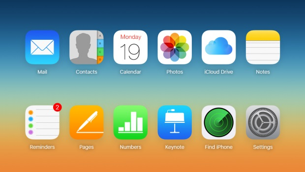take a backup on iCloud